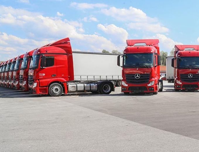 Transport Logistic fair in Munich
